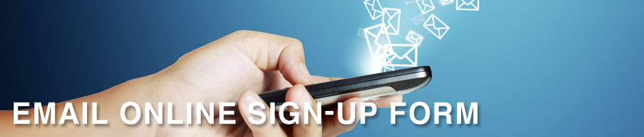 Email Online Sign-Up Form