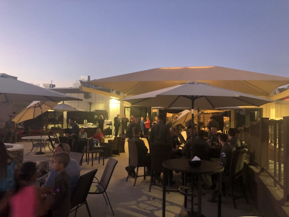 OCE IMAGES sunset setting - Catering
