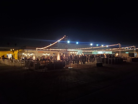 TCE PHOTO Flight line at night 001 - Catering